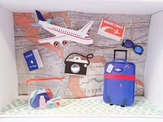 Weiteres - Geldgeschenk Flugreise - ein Designerstück von geldgeschenke bei DaWanda