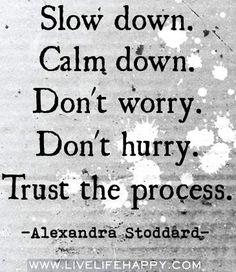 Don't worry quote via www.LiveLifeHappy.com