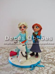 Doces Opções: Figuras Disney's Frozen
