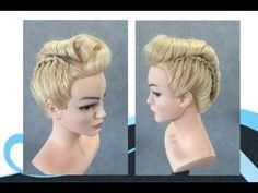 Twisten makkelijk kapsel, easy hairstyle - YouTube Grace Kelly, Afro, Four Strand Braids, Hair Bun Maker, Bun Hairstyles For Long Hair, Hair Blog, Braided Updo, Hair Tools, Synthetic Wigs