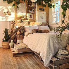super Ideas for bedroom goals dream rooms heavens Dream Rooms, Dream Bedroom, Master Bedroom, Bedroom Small, Aesthetic Rooms, Aesthetic Indie, Minimalist Bedroom, Modern Bedroom, Natural Bedroom
