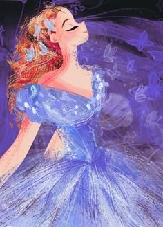 Dreams Come True Arte Disney, Disney Fan Art, Disney Magic, Disney And More, Disney Love, Live Action, Cinderella Art, Villainous Cartoon, Princess Art