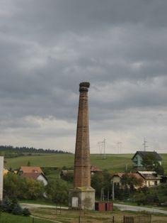 Slovakia  stork nest. Spissky Hrusov
