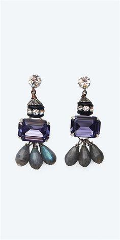 Tova - Drop Earrings- Multi
