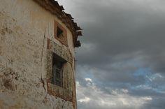 Casa derruida en Torremocha de Ayllón, Soria.