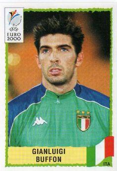 A very young Buffon Euro 2000