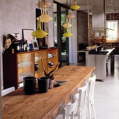 Dining Room Decorating Ideas: Midcentury dining space. Click the photo or go to redonline.co.uk.