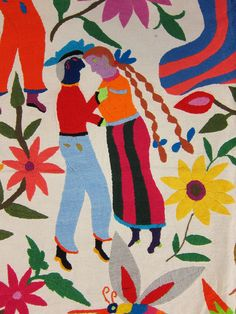 Beautiful Mexican Embroideries - from Bob Freund's Collection
