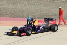 """Vettel nervoso: """"I problemi? Dobbiamo lavorare ancora molto"""""""
