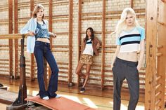 """Zara Trafaluc Autumn/Winter 2014 collection inspired by the """" gym / locker room"""". Huh."""