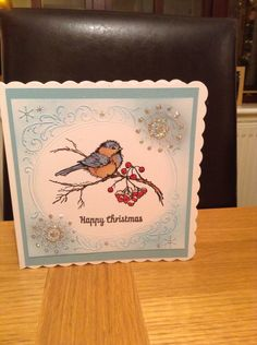 My favourite stampendous stamp snow bird