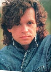John Mellencamp  (technically, I think this picture was taken when he was known as John Cougar.)