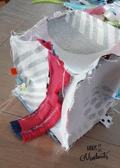 DIY couture : Le cube d'éveil - Tutoriel - Nous et les minibouts