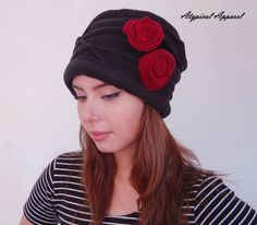 Black Fleece Hat.. Winter Hat. Fall Hat. Elegant Woman's Hat. Fleece Winter Hat. by AtypicalApparelPlus on Etsy https://www.etsy.com/listing/180299419/black-fleece-hat-winter-hat-fall-hat
