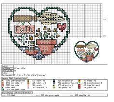 Amor por el punto de cruz (pág. 18) | Aprender manualidades es facilisimo.com