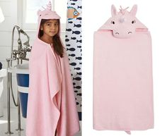 The ultimate gift guide for fans of unicorns Disney Play, Hooded Towels, Baby Towel, Unicorn Gifts, 21st Gifts, New Outfits, Gift Guide, Hoods, Sewing