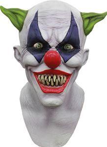 Creepy Giggles the Clown Mask - 326391 | trendyhalloween.com #halloween #halloweenmasks #scarymasks #masks #clown #clownmask #gigglestheclown #evilclown