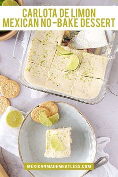 Key Lime Desserts, Mexican Desserts, No Cook Desserts, Mexican Food Recipes, Dessert Ideas, Dessert Recipes, Dinner Recipes, Refreshing Desserts, Recipes