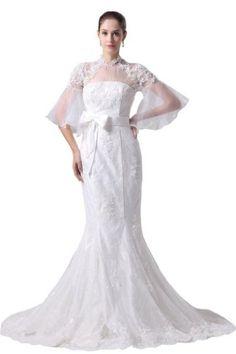 Orifashion White Sleeveless High Neck Embroidery Wedding ... https://www.amazon.com/dp/B00DMZKN2U/ref=cm_sw_r_pi_dp_x_8wz3zbAY22689