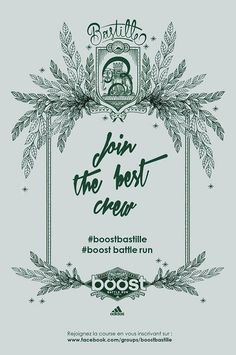 Join the best crew #boostbastille