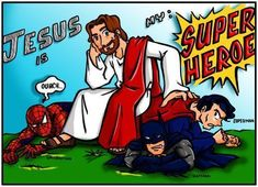 god is good Misfit Toys, Christian Love, Church Activities, Kids Church, Superhero Party, My King, Sunday School, Superman, Christianity