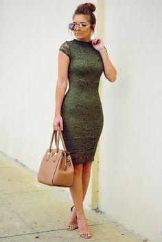 Take Me Places Dress: Olive #shophopes