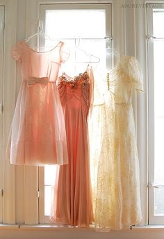 ... vintage and soft dresses
