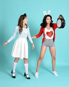 Alice & The White Rabbit disneybound down the rabbit hole!