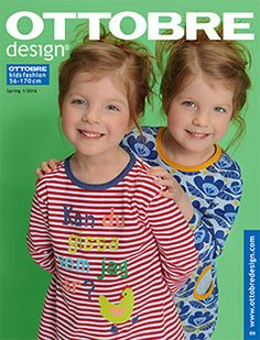 OTTOBRE design spring issue is online! Spring, Baby Sewing, Magazine Design, Free Pattern, Sewing Projects, Sewing Patterns, Pajama Pants, Fabric, How To Make