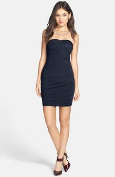 SALE $34 En Crème Bandage Body-Con Dress (Juniors) available at #Nordstrom MULTIPLE COLORS AVAILABLE (Not black)