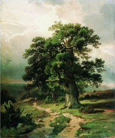 Oak - Ivan Shishkin