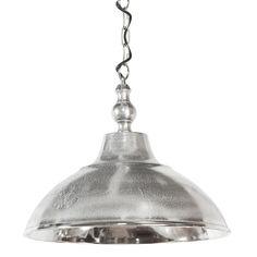 Hanglamp Aniek is een mooie, subtiele hanglamp in een zilveren kleur. Hanglamp Aniek ruw nikkel is een leuke opfrisser voor je interieur!