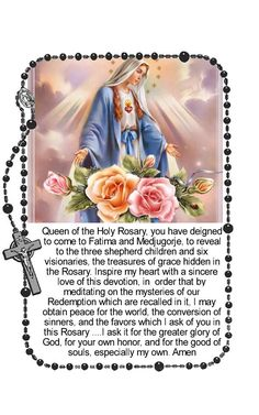 Praying The Rosary Catholic, Rosary Prayer, Catholic Religion, Holy Rosary, Faith Prayer, Catholic Prayers, Prayers To Mary, Special Prayers, Prayers For Healing