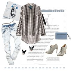 A fashion look from November 2014 featuring sass & bide tops, Chrissie Morris pumps and Valentino clutches. Browse and shop related looks.