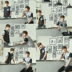 Jin and V! Taejin~ ❤ BTS X SMART Lookbook~ #BTS #방탄소년단