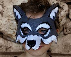 Wolf Mask PDF Pattern by oxeyedaisey on Etsy