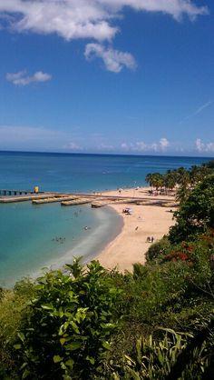 Crashboat Beach @ Aguadilla, Puerto Rico. Photo by Kaysee; myself