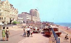 1960s Hastings Seafront, Hastings East Sussex, Vintage Photos, 1960s, Street View, History, Architecture, Places, Roots