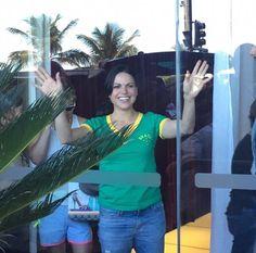 #BrazilCantWaitToMeetLanaParrilla  #WelcomeToBrazilOUATcast Lana para de ser gostosa meu