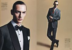 """Dressing the Man"" – Tom Ford Editorial from SENSE"