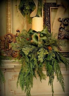 Rusty Heart Designs: Search results for Christmas mantels Christmas Fireplace, Christmas Mantels, Noel Christmas, Rustic Christmas, Winter Christmas, Christmas Wreaths, Christmas Crafts, Christmas Ideas, Christmas Candle