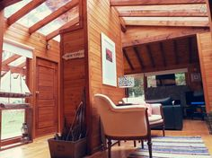 Échale un vistazo a este increíble alojamiento de Airbnb: Entrañable Cabaña Patagónica - Casas for Rent