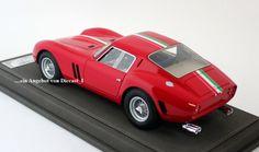 BBR - Ferrari 250 GTO (1962) Präsentation-Version 1962 in 1:18 Ltd.Ed. 1803 Wunderschönes, weltweit auf nur 250 Stück limitiertes Resin-Modell von BBR, einem für seine sehr hochwertigen und detailgetreuen Modelle bekannten Hersteller aus Italien, im Maßstab 1:18 des                                                           Ferrari 250 GTO