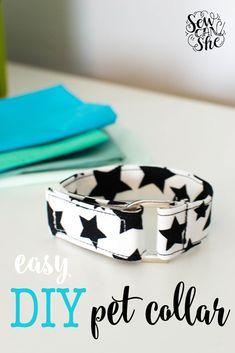 10 Brilliant Projects to Upcycle Leftover Fabric Scraps - Nedette Easy Sewing Projects, Sewing Projects For Beginners, Sewing Hacks, Sewing Tutorials, Sewing Crafts, Sewing Tips, Tutorial Sewing, Sewing Ideas, Diy Dog Collar