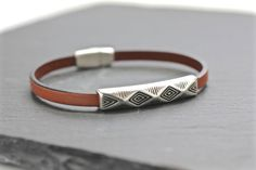 Hey, I found this really awesome Etsy listing at https://www.etsy.com/listing/247382159/geometric-bracelet-mens-bracelet-mens