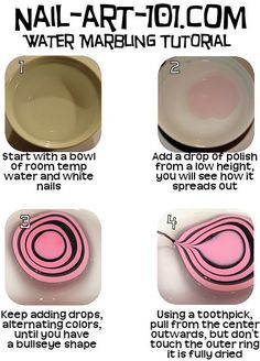 http://poutperfection.com/2012/03/10/water-marble-nail-art-how-2/    http://poutperfection.files.wordpress.com/2012/03/water_marbling_tutorial1.jpg