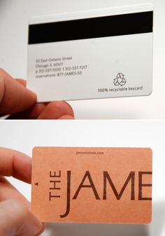 Eco-Friendly Hotel Key Cards                                                                                                                                                     More