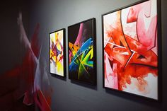 Beautiful Graff Canvases from Madc