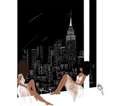 Girls love the city by Nikisgroove on Etsy