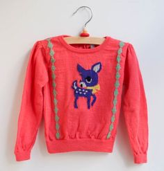 """bambi sweater  @Natalie Jost T """"don't you wish they had this in our size. I thought of you and that you would enjoy this as I do. :)"""